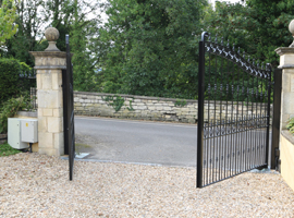 Bath Electric Gates